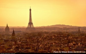 Image of the Eiffel Tower in Paris, France.