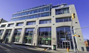 Consultation offices of personal injury lawyers Azevedo and Nelson in Kitchener, Ontario.